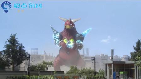 泰迦奥特曼:出现了,还是个自带BGM的怪兽,出来大肆破坏!