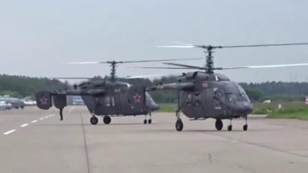 俄罗斯卡-226直升机,共轴双旋翼,也不怕旋翼打架!