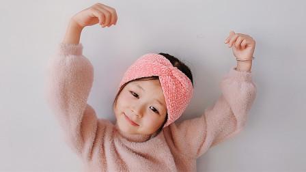 钩针编织束发带弹性不勒头洗漱面膜运动更方便粗毛线手工编织