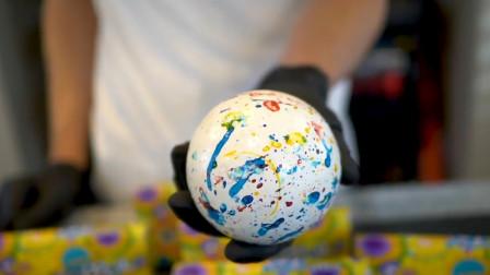 一颗糖果足够吃8年,坚硬的如同石头,制作过程太神奇了