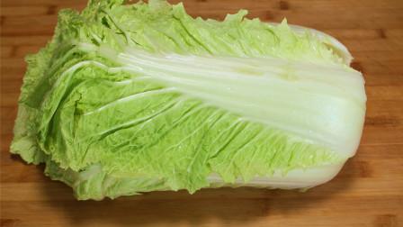 冬天多吃白菜,这样做家人特别爱吃,暖心暖胃,上桌就抢光