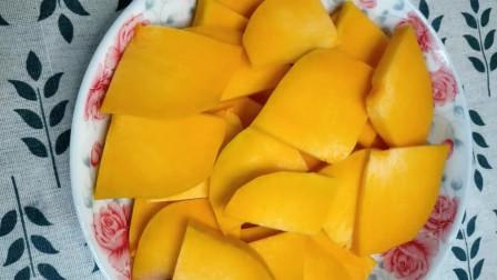 南瓜新吃法,家常做法糯米芝麻球,软糯香甜