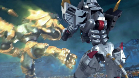超兽武装:狮王与风耀正式对决,精彩绝伦!