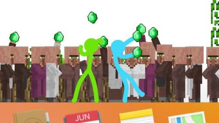 我的世界动画-火柴人来到MC-第1-14
