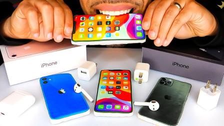 三部新款苹果手机,竟然都是可以吃的创意甜点,外形简直以假乱真