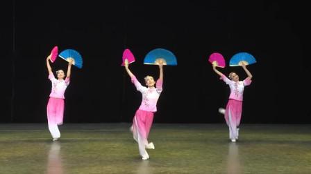 云舞裳丨舞蹈女子群舞《山笑水笑人欢笑》分解动作 饶子龙老师编创舞蹈 昌平文化馆演示 年会舞蹈 适合节日庆典