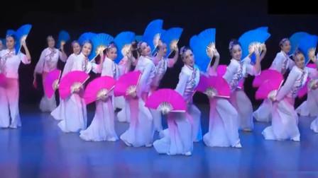 云舞裳丨舞蹈女子群舞《山笑水笑人欢笑》饶子龙老师编创舞蹈 昌平文化馆演示 年会舞蹈 适合节日庆典喜庆欢快