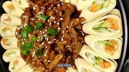 京酱肉丝这做法最正宗,隔壁老王吃了不走了