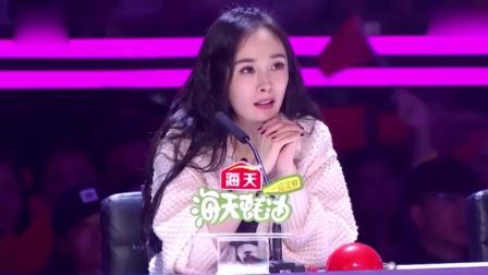 中国达人秀:印尼女孩人美歌甜,沈腾杨幂秒变迷妹,声音太好听了