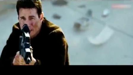 碟中谍3:男子拿枪直接将直升机击落,网友:这是什么操作?