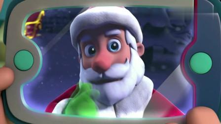 汪汪队:圣诞节的饼干太香了,陆玛都闻上瘾了,香的太上头了!
