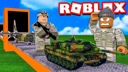 小飞象解说✘Roblox战争大亨 建造武器工厂!各种前所未见的奇葩武器!乐高小游戏