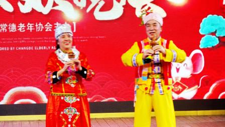 常德老年协会2019年年终联谊晚会2019年12月6日于桂林木龙湖
