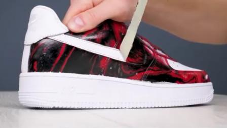 用水能制作一双酷炫的耐克鞋?球迷另辟蹊径,感觉成品价值翻翻