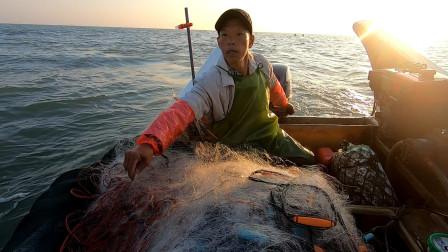 天气正好阿雄远赴外海,信心满满投下渔网,靓货都被客户提前预定