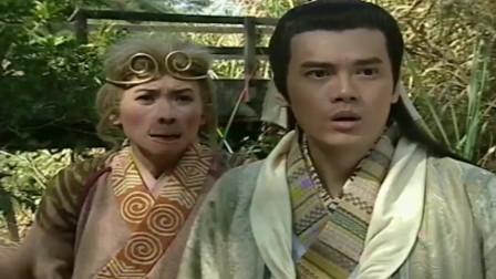 母猴妖与人类抢相公,不料他妻子会法术,直接给它戴紧箍咒