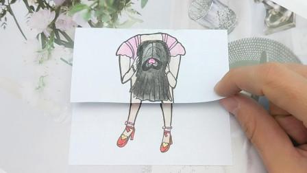 不洗头发的王默还是漂亮吗?用一幅趣味漫画告诉你