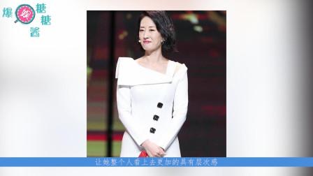 43岁的刘敏涛,碰到同龄的马伊琍,看到穿搭和演技,网友:这就是黑白配