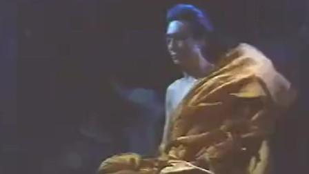 如来佛祖修城正果时,电闪雷鸣,白猴护法,七仙女相助,佛光普照!