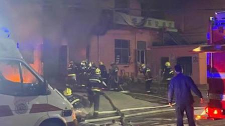 济南邵西村一居民家中失火 已致3死2人正在抢救中