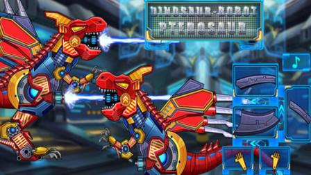 恐龙拼装霸王龙对战翼龙谁赢?