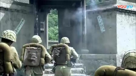女兵单兵作战, 利用陷阱和神准枪法, 干掉一个日军分队