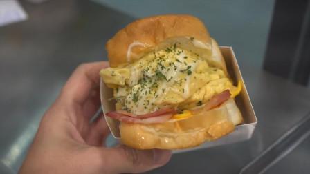 简约而又不简单的三明治,做法及其的简单,不愧是这家店的招牌