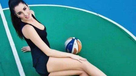 她是最美篮球运动员  绝世美颜不输模特【体育辣报】
