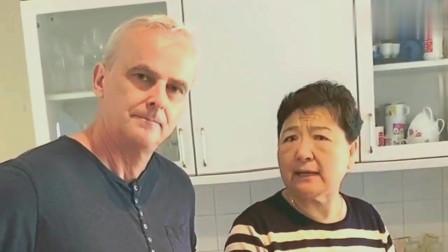 洋女婿把美女领家里,中国丈母娘说他有毛病,老太太真有意思