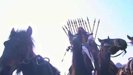 杨过独斗蒙古大军,一枪击杀蒙古皇帝,一人逼退百万大军
