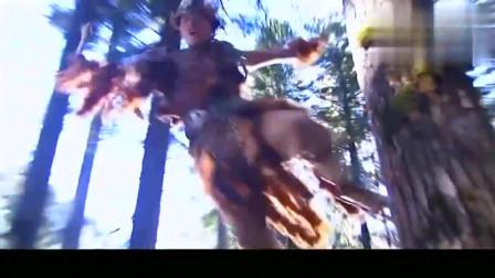 神雕侠侣:独臂杨过一声怒吼,吓退百万凶兽,威力恐怖至极