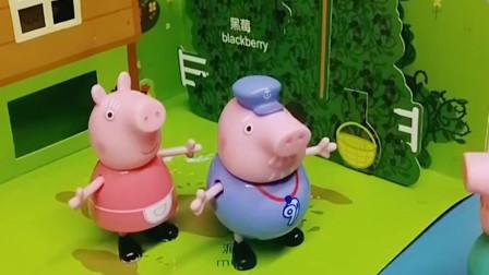 小鸡被僵尸抓走了,猪奶奶找不到小鸡,小朋友快告诉猪奶奶真相!