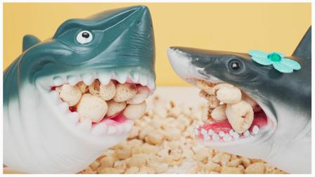 儿时味道爆米花 鲨鱼爸爸试吃日本零食