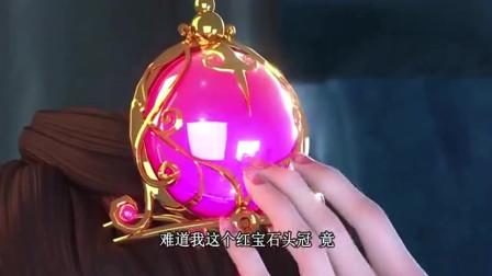 精灵梦叶罗丽:难道茉莉头上的红宝石是金王子心脏吗?