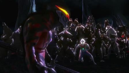 赛罗赶往怪兽墓厂,见到赛文最后一面
