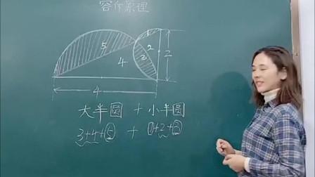 老师讲求解阴影面积,学生:老师你知道我们心理阴影面积吗?