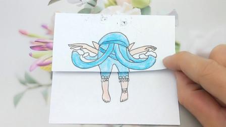下蹲弯腰不擦屁股水王子会是什么样子?这也太有趣了吧!