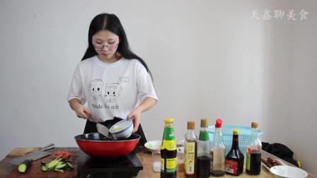 家常快手菜,黄瓜炒火腿肠荤素搭配营养健康,主要是非常美味。