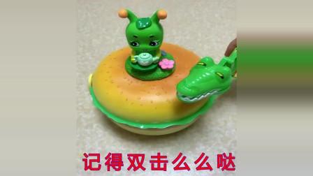 少儿益智游戏:汉堡,鳄鱼和糖宝