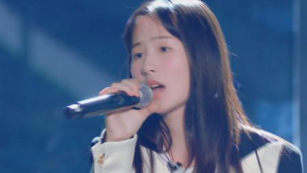 内地歌手张钰琪献唱美国颁奖典礼,原创歌曲《Outside》,太长脸