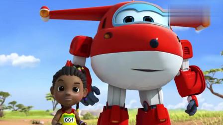 超级飞侠:今天举行跑步比赛,孩子们动力十足,家长也在加油