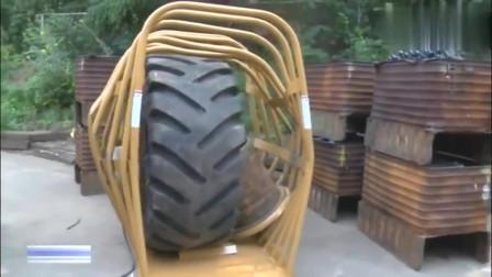 男子这样去修理大货车身下轮胎突然炸了监控记录生前最后一幕
