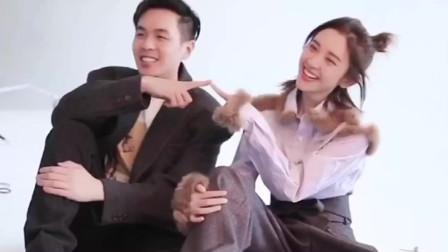 张若昀唐艺昕宣传片,超级甜的一对,就这样幸福下去吧