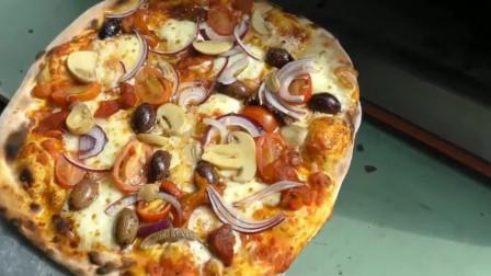 正宗的意大利披萨,街头的才是最地道最好吃的