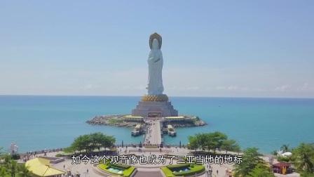 世界上最大的海上观音像,耗时6年,游客们喜欢摸佛脚