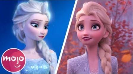 《冰雪奇缘》与《冰雪奇缘2》大比拼!你更爱哪一部?