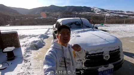 """李理和他的""""长城炮""""迎来大雪纷飞,寒冷地区用车需要注意什么"""