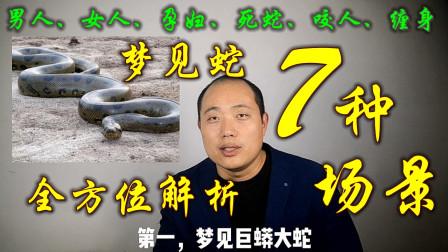 梦见蛇是什么意思?女人、孕妇、男人梦见蛇预兆竟各不相同