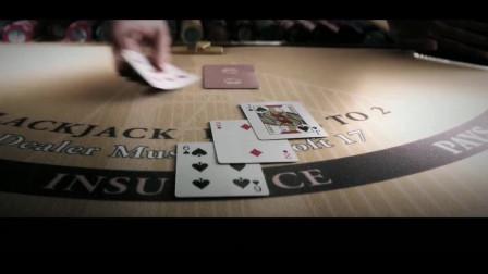 男子在赌场赢了一把,得知财运已经到来,想不赢都难