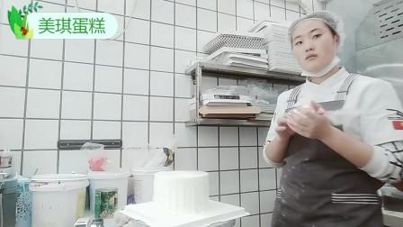 美琪蛋糕:儿子生日,定做一个小汽车创意蛋糕,宝宝很高兴!